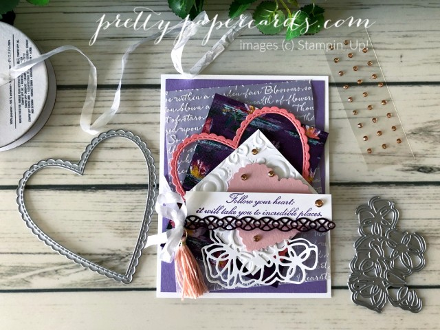 Follow Your Heart Card Stampin' Up! by Peggy Noe