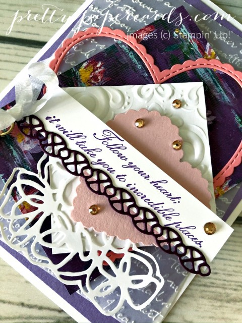 Follow Your Heart Card Stampin' Up! by Pretty Paper Cards
