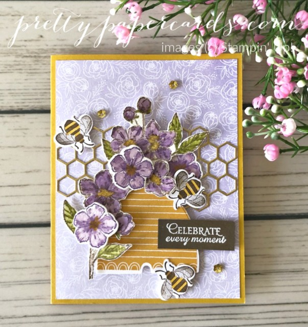 Honey Bee Birthday Stampin' Up! Peggy Noe