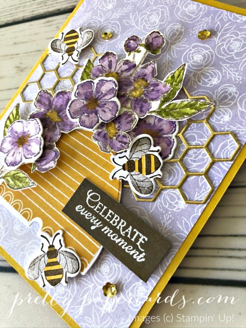 Honey Bee Card Stampin' Up! Peggy Noe