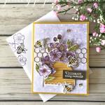 Honey Bee Card Stampin