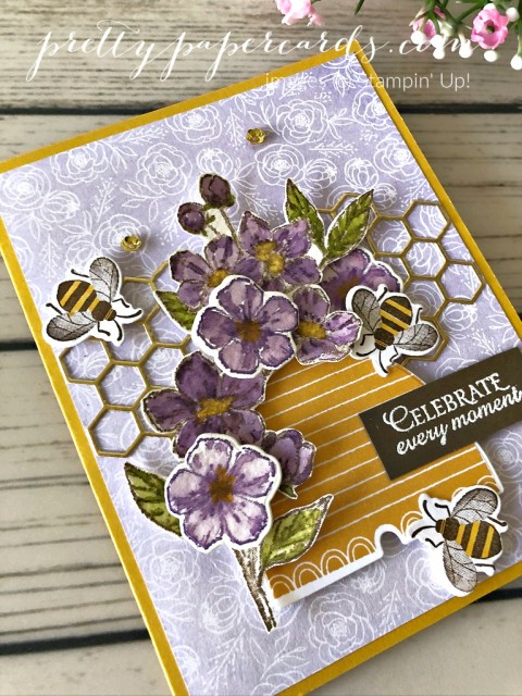 Honey Bee Stampin' Up! Pretty Paper Cards