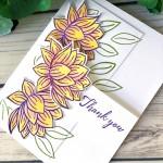 Lily Pad Card Stampin