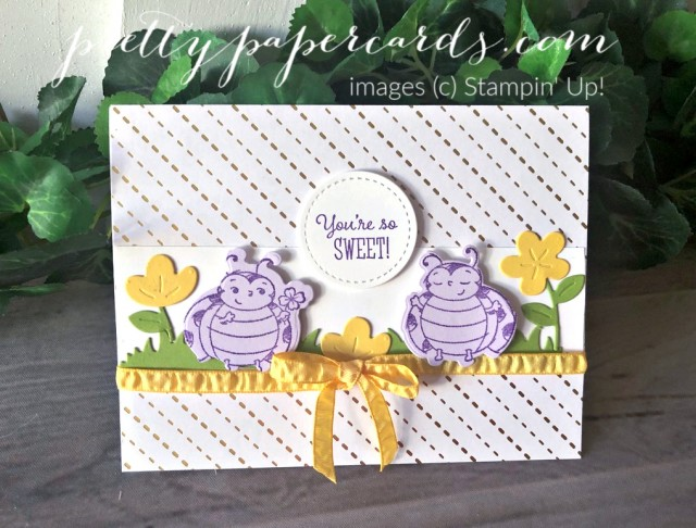 Little Ladybug Stampin' Up! Card by Peggy Noe