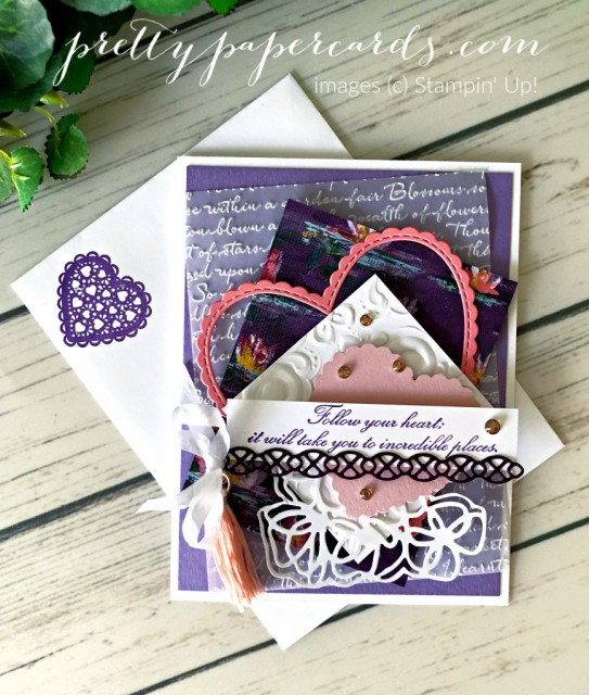 Parisian Follow Your Heart Stampin' Up! by Peggy Noe