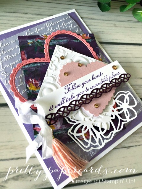 Parisian Follow Your Heart Stampin' Up! by Pretty Paper Cards