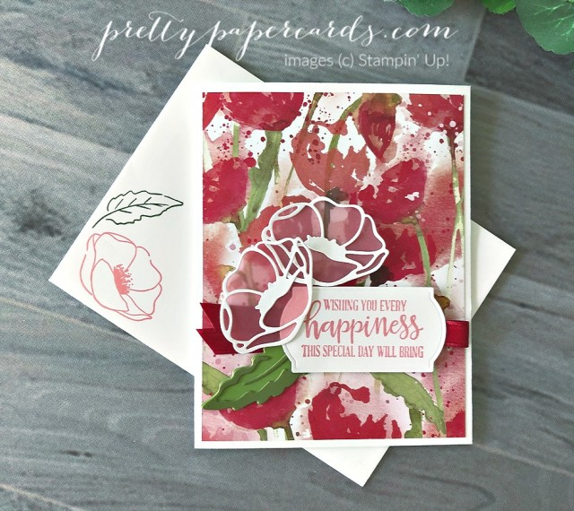 Peaceful Moments Birthday Stampin' Up! Peggy Noe