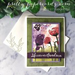 Peaceful Moments Poppy Card Stampin
