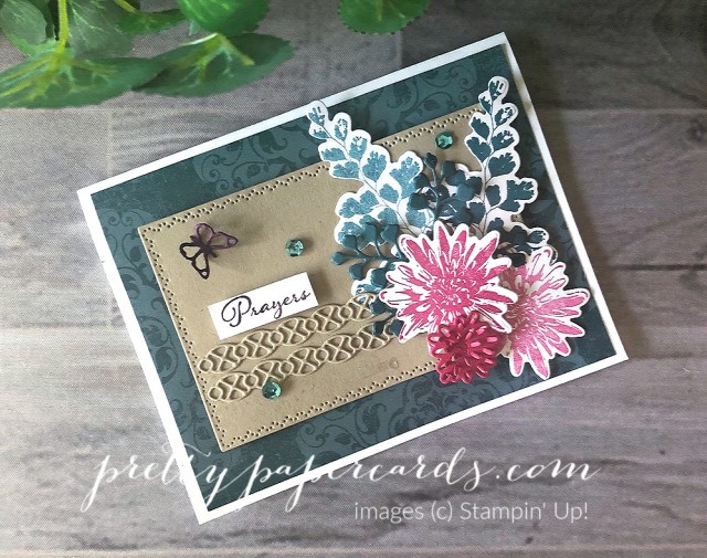 Positive Thoughts Prayer Card Stampin' Up! by Pretty Paper Cards