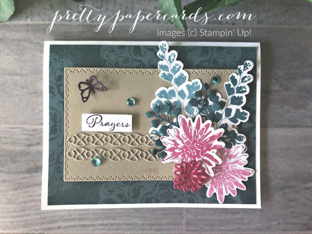 Positive Thoughts and Nature's Thoughts Stampin' Up! by Pretty Paper Cards