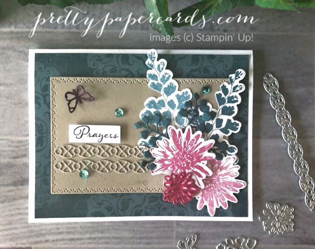 Prayer Card Stampin' Up! Nature's Thoughts by Peggy Noe