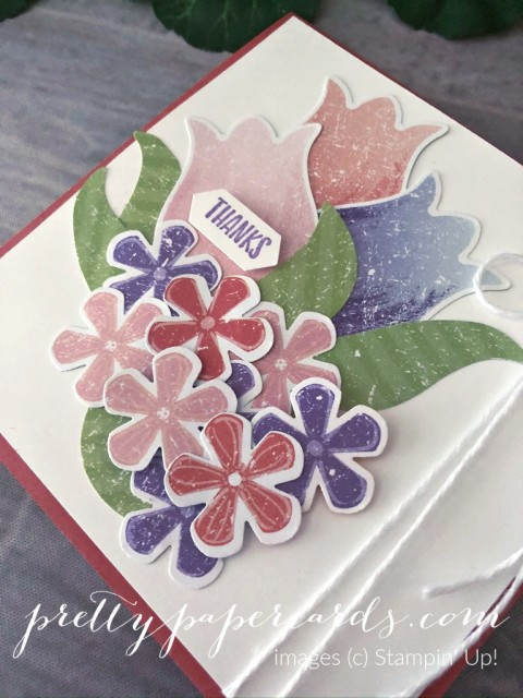 Thank You Tulip Card by Peggy Noe