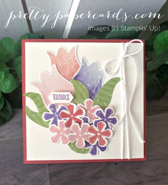 Thank You Tulip Card by Pretty Paper Cards
