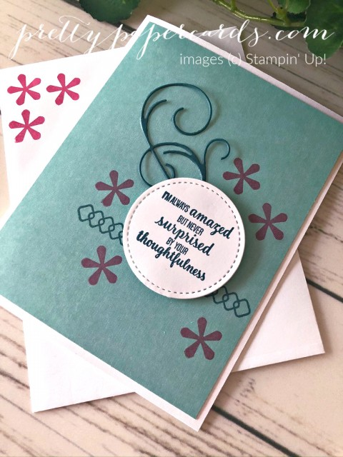 Thoughtful Blooms Card Stampin' Up! Peggy Noe