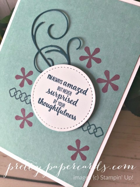 Thoughtful Blooms Card Stampin' Up! by Peggy Noe