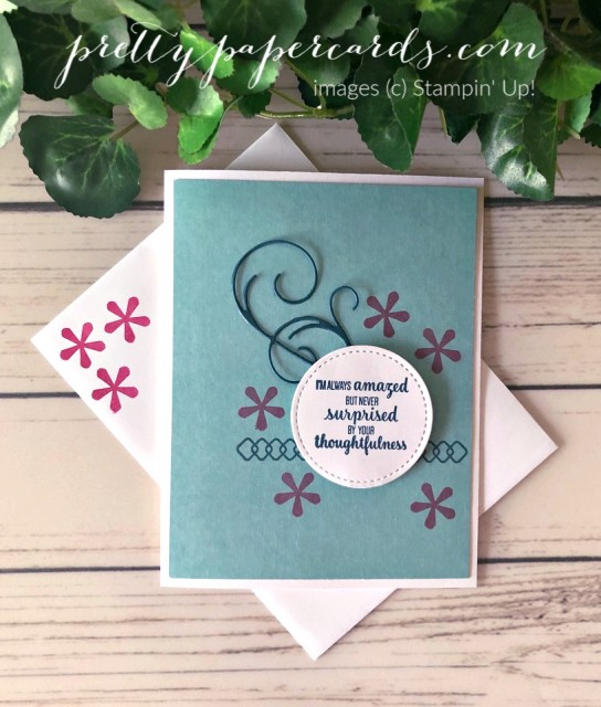 Thoughtful Blooms Stampin' Up! Peggy Noe