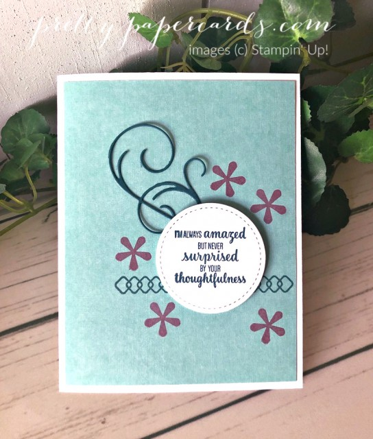 Thoughtful Blooms Stampin' Up! Pretty Paper Cards