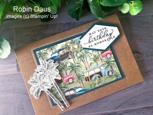 Timeless Tropical Stampin' Up! Robin Daus