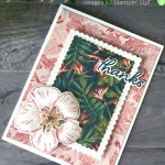 Handmade rest and relax card with large pineapple, made using the Timeless Tropical Bundle by Stampin