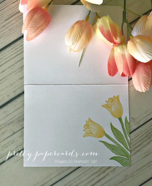 Timeless Tulips Stampin' Up! Pretty Paper Cards