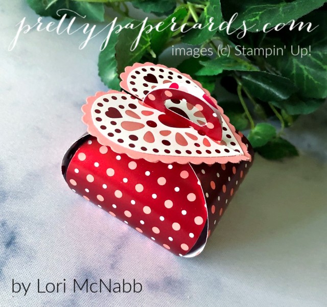 Tiny Keepsake Box Valentine Pretty Paper Cards