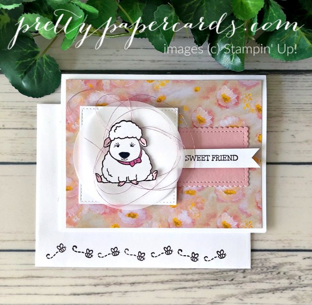 Welcome Easter Card Stampin' Up! Pretty Paper Cards
