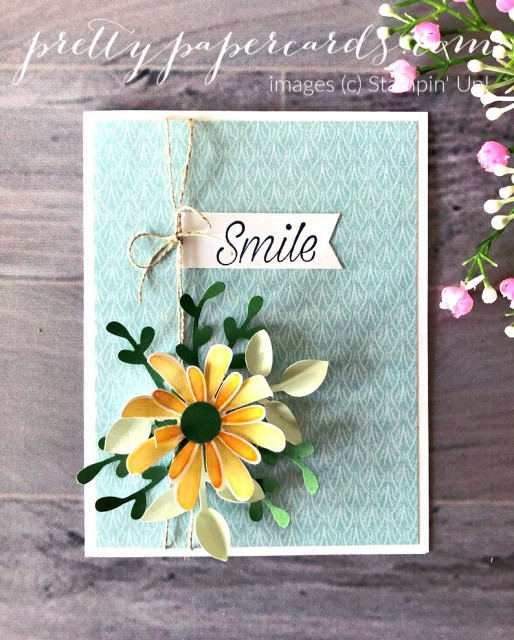 Daisy Lane Card Stampin' Up! Peggy Noe