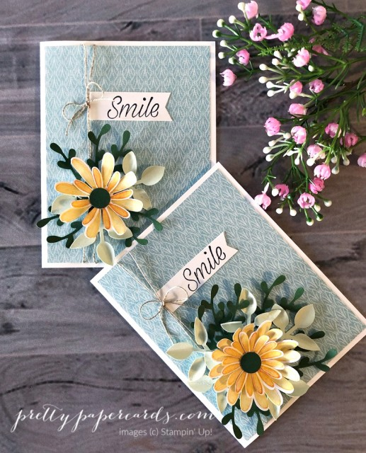 Daisy Lane Card Stampin' Up! Pretty Paper Cards