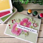 Flowering Foils Card Stampin