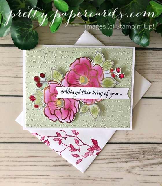 Flowering Foils Stampin' Up! Pretty Paper Cards