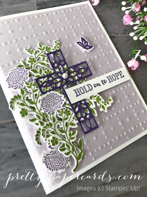 Hold on to Hope Card Stampin' Up! Pretty Paper Cards