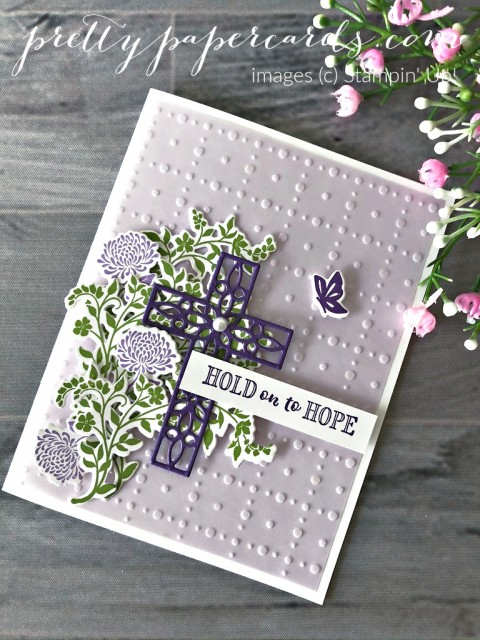Hold on to Hope Stampin' Up! Peggy Noe