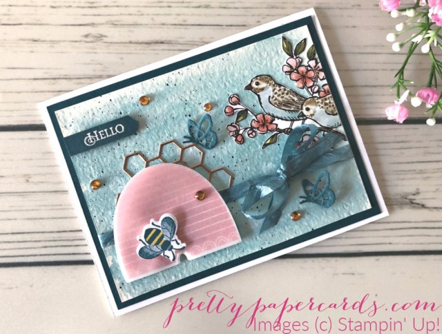 Honey Bee Bundle Card Stampin' Up! Peggy Noe