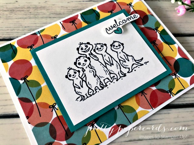 Meercats Stampin' Up! Peggy Noe