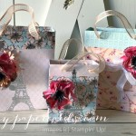 Parisian Blossom Bags Stampin
