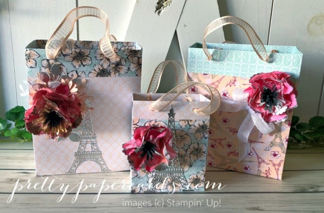 Parisian Blossom Bags Stampin' Up! Peggy Noe