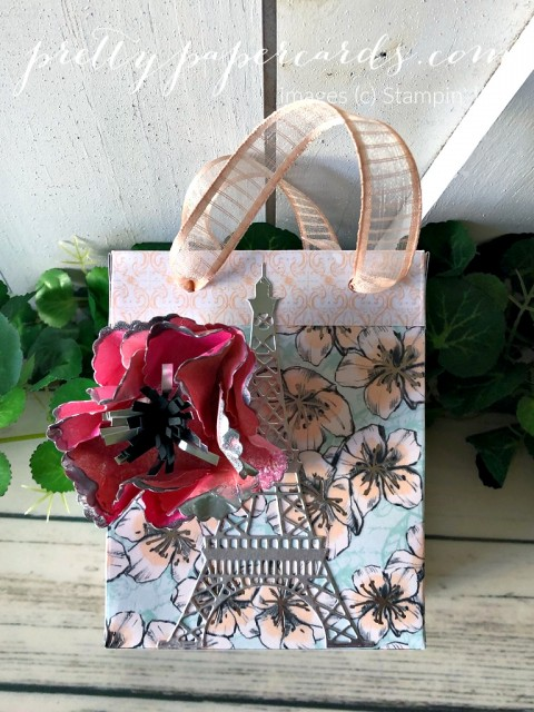 Parisian Blossom Bags Stampin' Up! Pretty Paper Cards