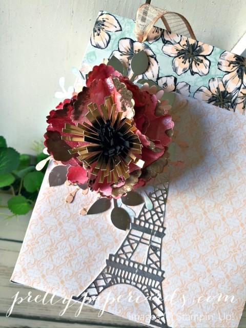 Parisian Floral Bag Stampin' Up! Peggy Noe