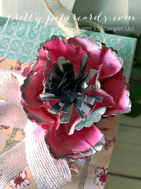 Parisian Floral Bag Stampin' Up! Pretty Paper Cards