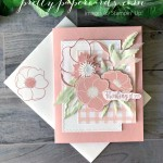 Pink Poppy Card Stampin