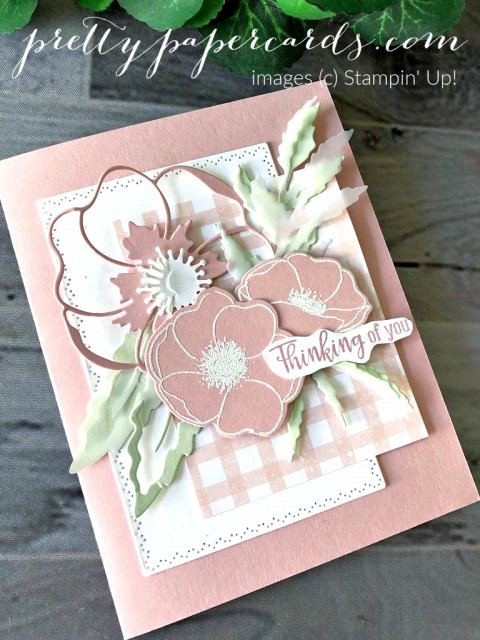 Pink Poppy Stampin' Up! Peggy Noe