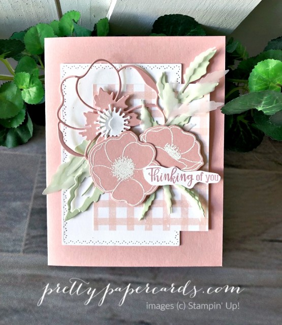 Pink Poppy Stampin' Up! Pretty Paper Cards