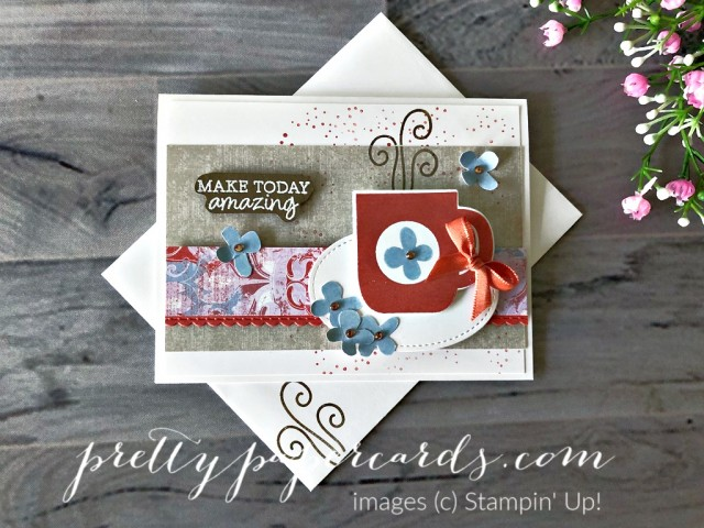 Rise & Shine Card with Stampin' Up! Peggy Noe