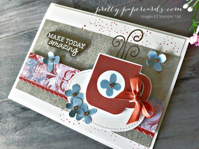 Rise & Shine Stampin' Up! Pretty Paper Cards