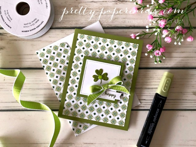 St Patricks Day Stampin' Up! Peggy Noe