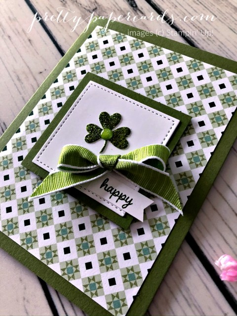 St Pattys Day Stampin' Up! Peggy Noe