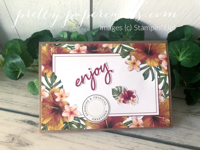 Tropical Oasis Stampin' Up! Peggy Noe