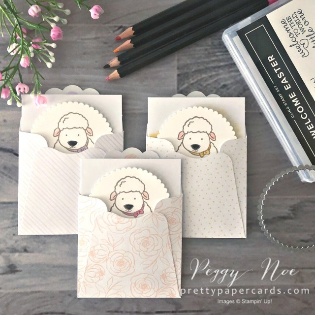 Welcome Easter Stampin' Up! Pretty Paper Cards