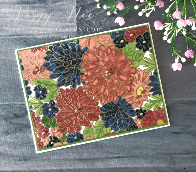 Ornate Garden Floral Card Stampin' Up! Pretty Paper Cards