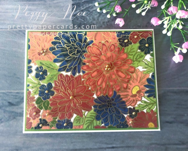 Ornate Garden Floral Stampin' Up! Pretty Paper Cards